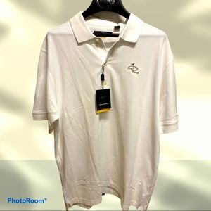Men's large Greg Norman NWT polo shirt